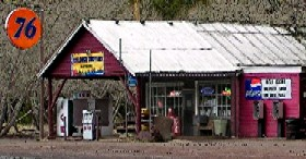 The Pines General Store in Parks, Arizona