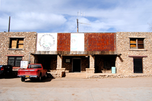 An administration office is now housed in the old trading post.