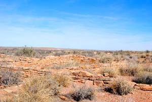 Puerco Pueblo, Petrified Forest, Arizona
