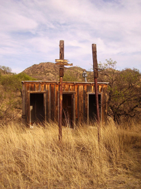 Ruby, Arizona School Outhouses