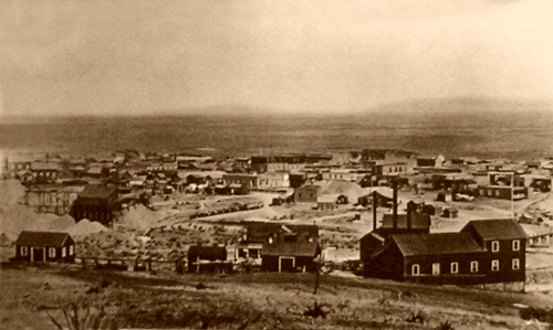 Tombstone, Arizona around 1880