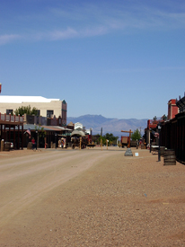 Allan Street, Tombstone, Arizona