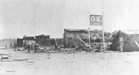 Fire destroys the OK Corral in 1882