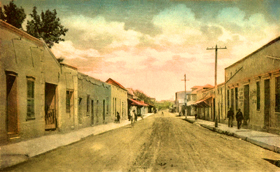 Tucson, Arizona vintage postcard