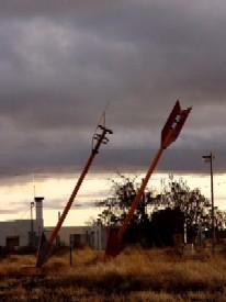 Twin Arrows Trading Post east of Flagstaff, Arizona