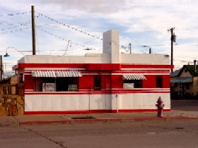 Irene's Valentine Diner in Winslow, Arizona