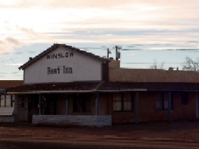 Rest Inn in Winslow, Arizona