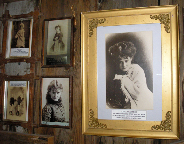 Old West Saloons Vintage Photographs Bird Cage Theatre