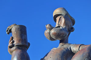 Alma, Arkansas Popeye the Sailor Man by David Fisk