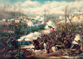 Battle of Pea Ridge, Arkansas