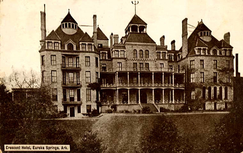 Haunted Hotels and Inns of the American West