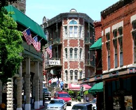 Eureka Springs, Arkansas today