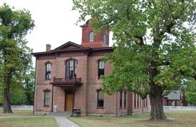 1874 Courthouse, Washington State Park, Arkansas
