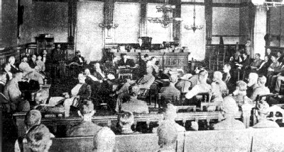 Judge Parker in the Sixth Street Courtroom, circa 1894
