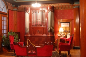 Inside the Crescent Hotel, Eureka Springs, Arkansas, 2009