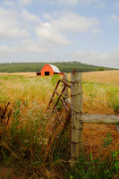 Barn near Huntsville, Arkansas. Photo by Kathy Weiser-Alexander, July 2014