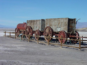 20-mule team wagon
