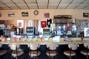 Roy's Cafe in Amboy, California