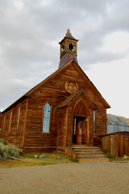 Bodie California church