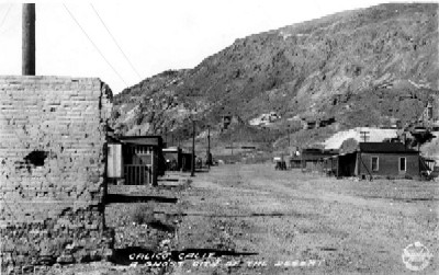 Calico California in 1931