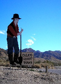Entrance to Calico, California