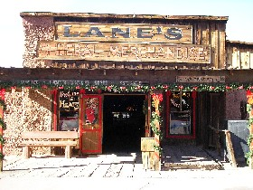 Lane's Store, Calico, California, Kathy Weiser, December 2005