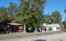 Coloma, California Main Street