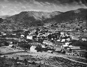 Coloma, California in 1857