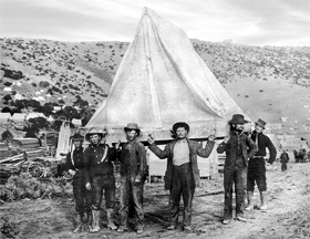 California miners