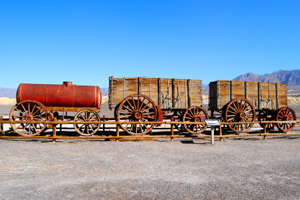 20 Mule Team Wagon, Harmony Borax Works, Death Valley, California