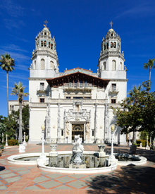 Hearst Castle, California, courtesy Wikipedia
