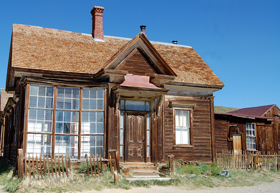 J.S. Cain House in Bodie, California