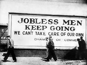 Jobless Men Keep Going