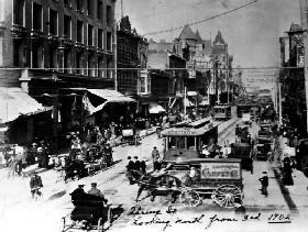 Los Angeles, California in 1902