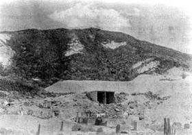 Ruins of the Lila C Mine in 1943