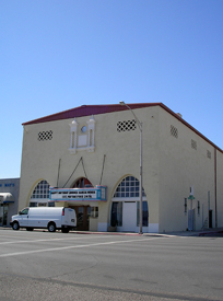 Hhistoric Needles Theatre today