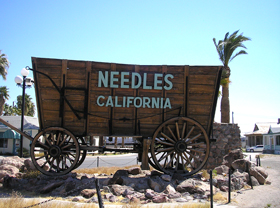 Welcome to Needles, California