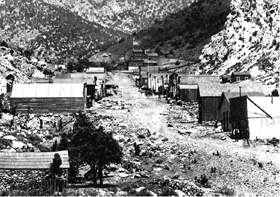 Panamint City, California about 1875