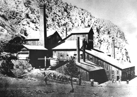 Panamint City, California Mill, 1875