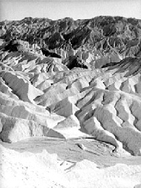 The Panamint Range of Death Valley, California