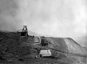 Funeral Creek Copper Mine, California