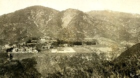 1907 photograph of Arrowhead Hot Springs