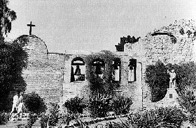 San Juan Capistrano Mission was built in 1776 and continues to stand today