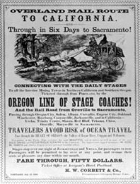 Stagecoach Advertisement