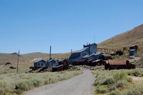 Bodie, California Mine