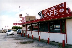 The historic Cajon Summit Inn