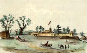 Sutter's Fort, 1849