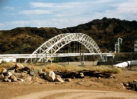Trails Arch Bridge across the Colorado River