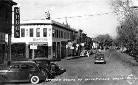 Route 66 through Victorville, California