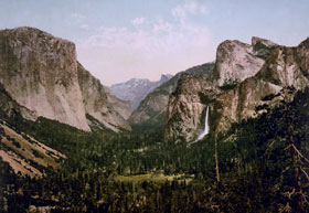 Yosemite Valley by William Henry Jackson
